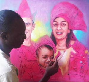 painting by ayeola ayodeji awizzy