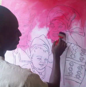 painting by ayeola ayodeji awizzy