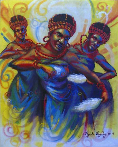 ayodeji paintings