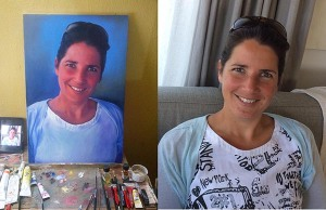 gij kind commissioned portrait painting
